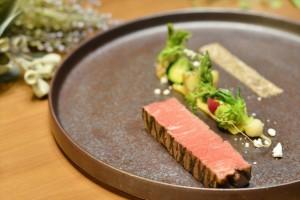 静岡牛〜葵〜 テンダーロインのロースト 玄米塩を合わせて